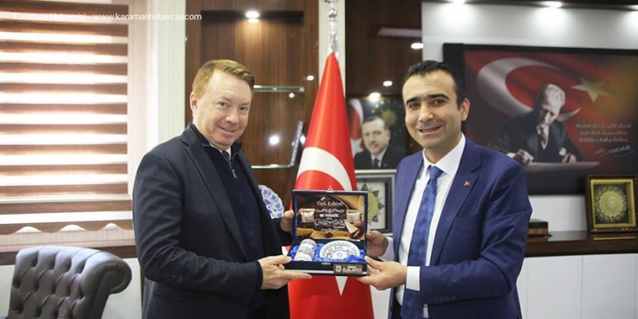 Avustralya Büyükelçisi Marc Innes Brown Karaman Ziyareti