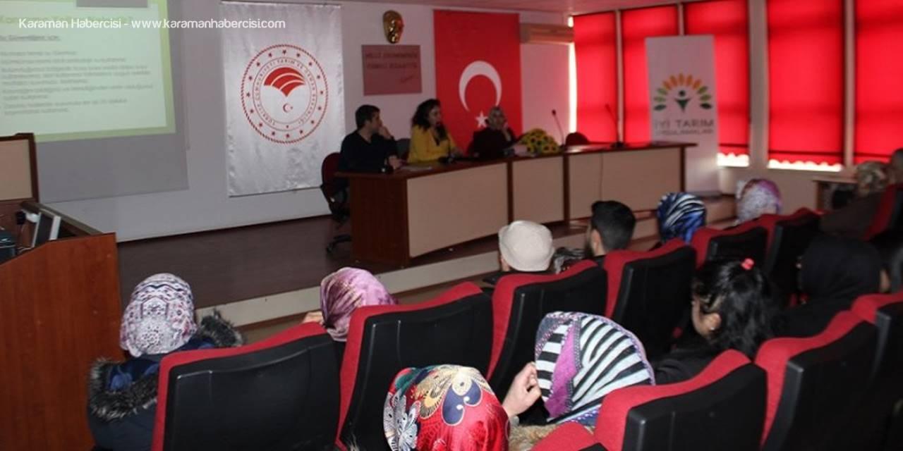 Karaman'da Gıda Güvenliği ve Hijyen Eğitimi Verildi