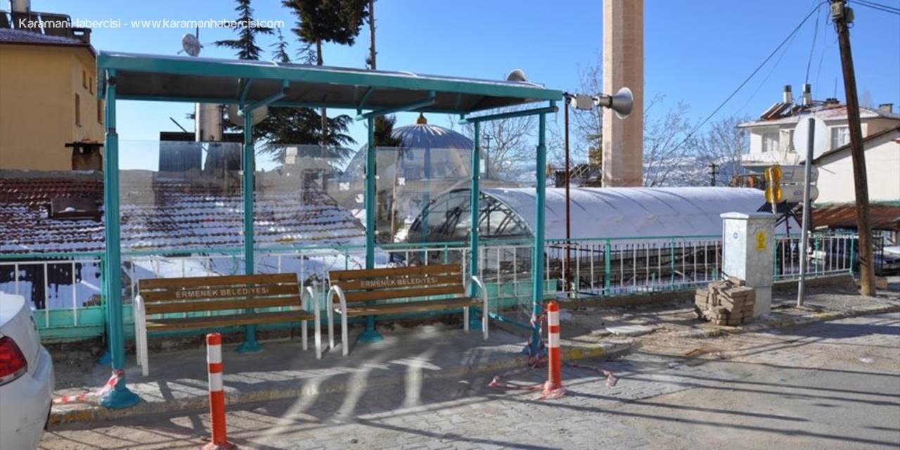 Ermenek'te Durak Çalışmaları