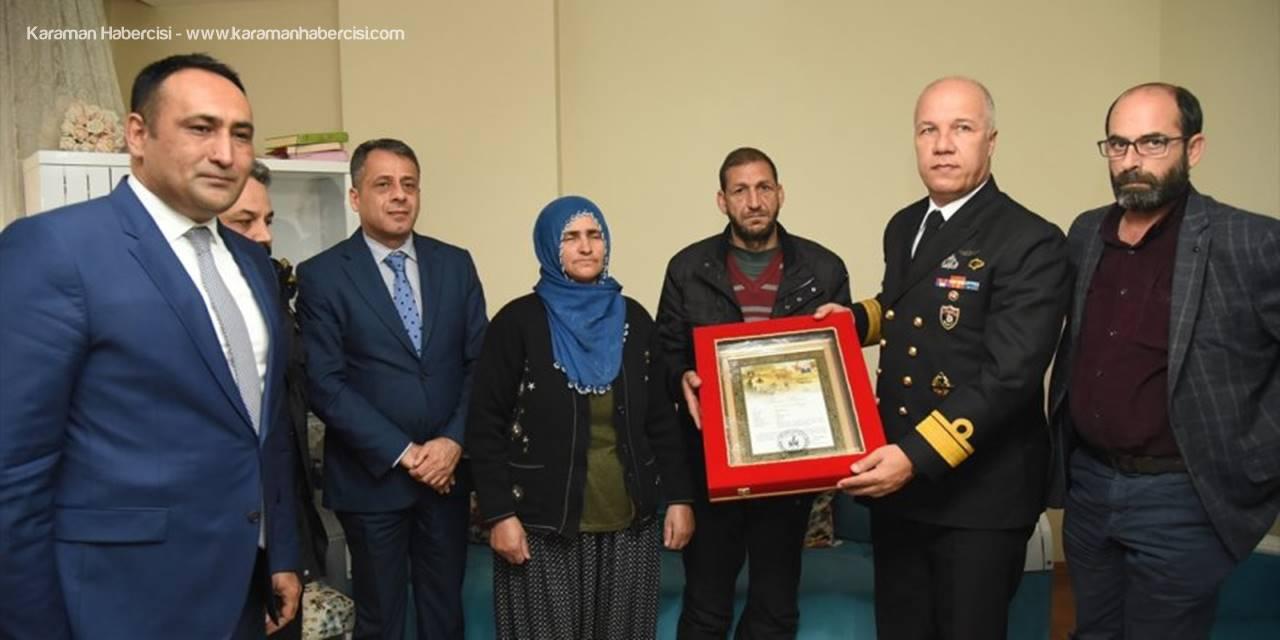 Mersin'de Şehit Ailelerine Şehadet Belgesi Verildi