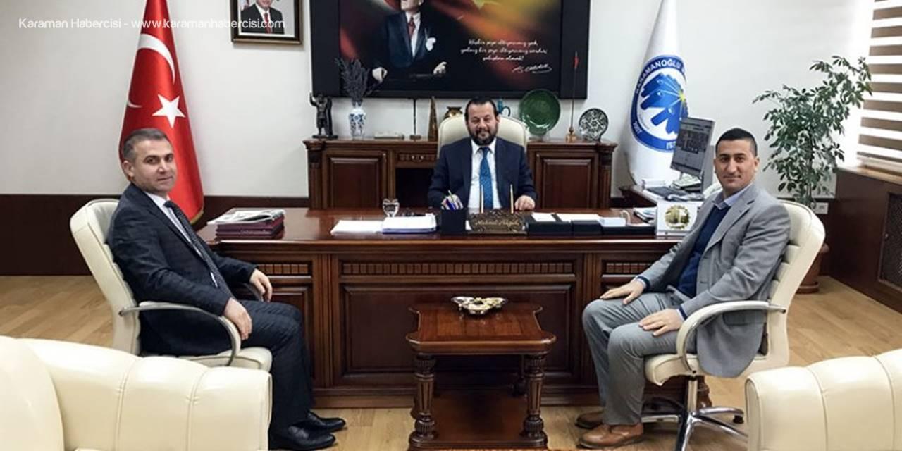 Taşfed Yönetim Kurulu Başkanı Özrek'ten Rektör Akgül'e Ziyaret