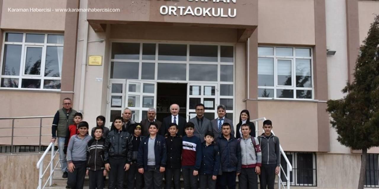 Vali Fahri Meral, İl Müdürü Çalışkan'la Okul Ziyaretlerinde