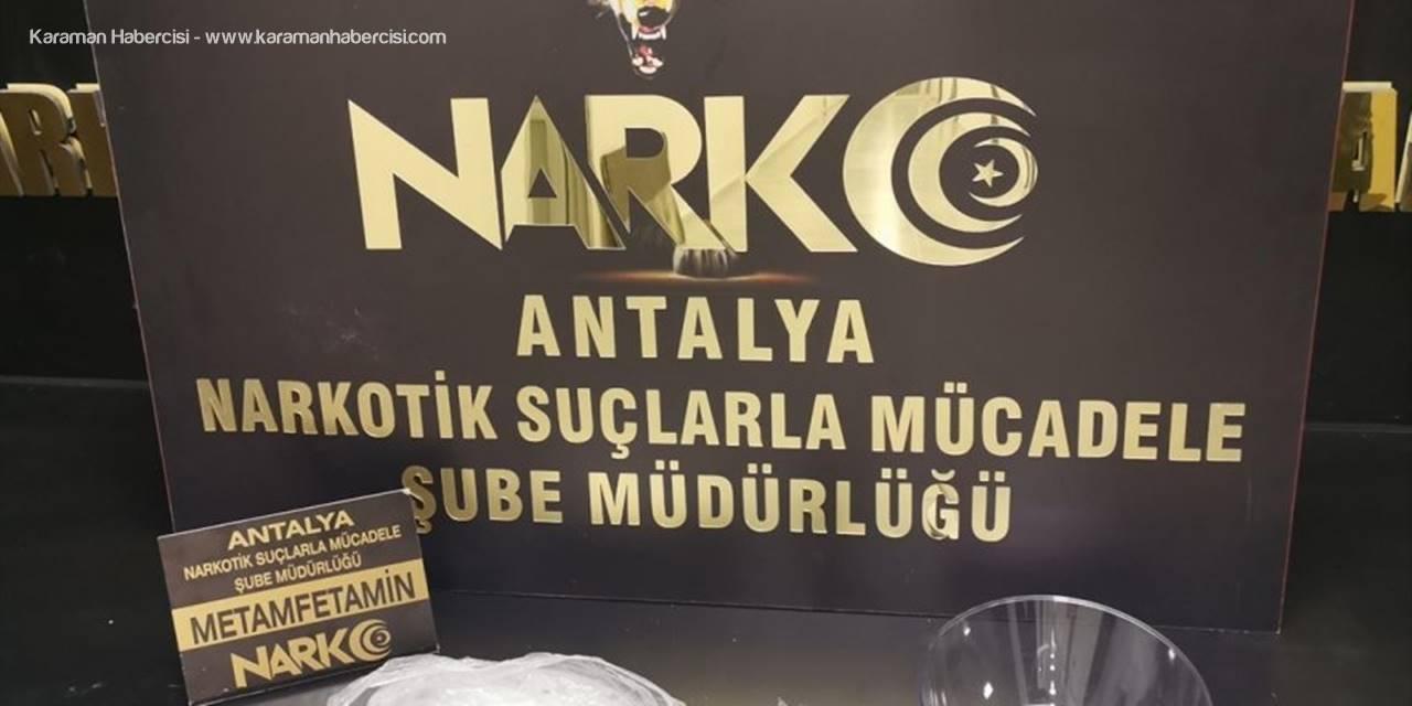 Antalya'da Uyuşturucu Operasyonunda 2 Zanlı Tutuklandı