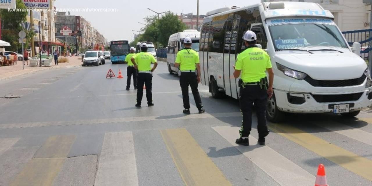 Mersin'de Gereksiz Korna Çalan 801 Araç Sürücüsüne Cezai İşlem Uygulandı