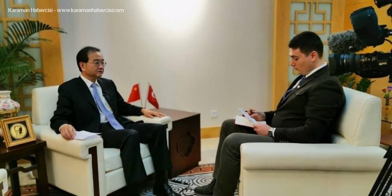 """Çin Büyükelçisi Li: """"Toplamda 2 Bin 6 Vatandaşımız Hayatını Kaybetti"""""""