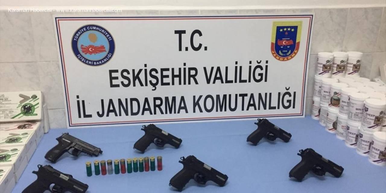 Mihalıççık'ta Silah Kaçakçılığı Operasyonunda 2 Şüpheli Yakalandı