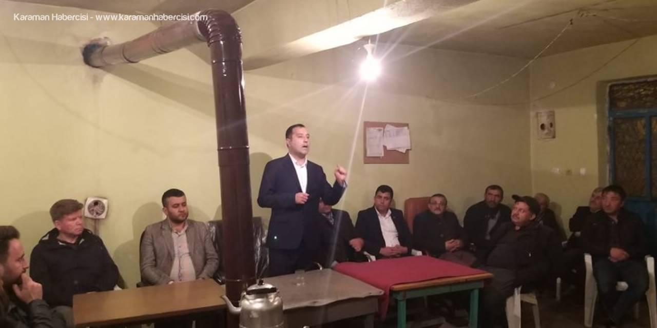 MHP Karaman İl Teşkilatı Boyalı Köyünü Ziyaret Etti