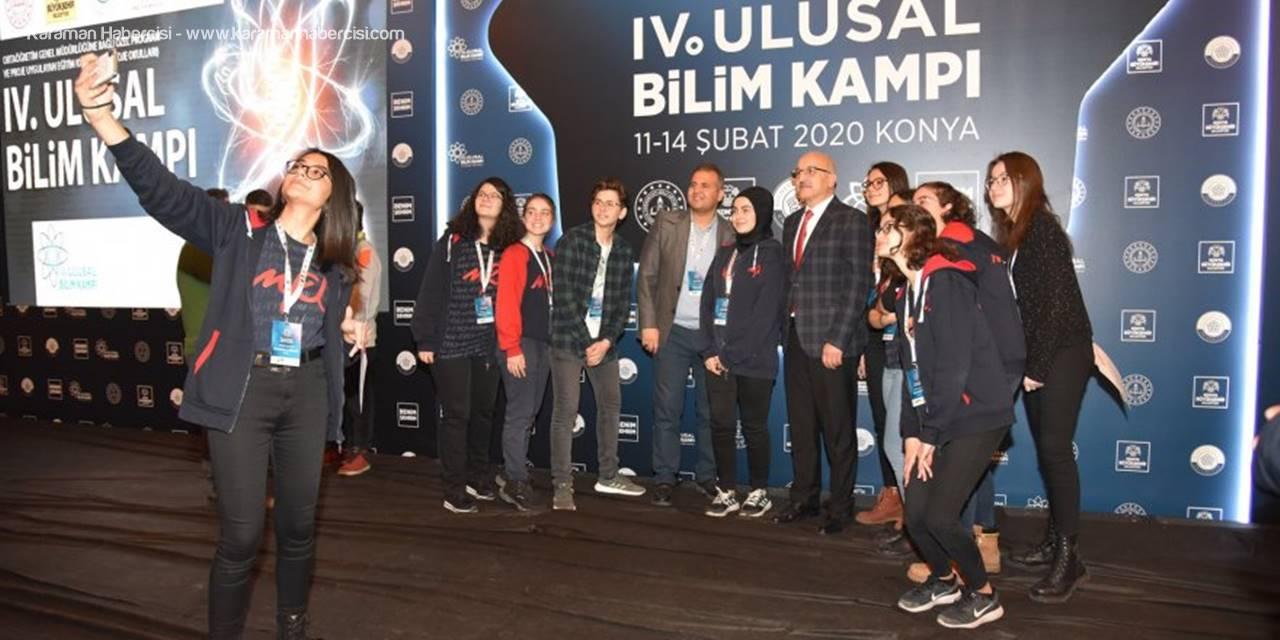 Ulusal Bilim Kampı Programı Konya'da Tamamlandı