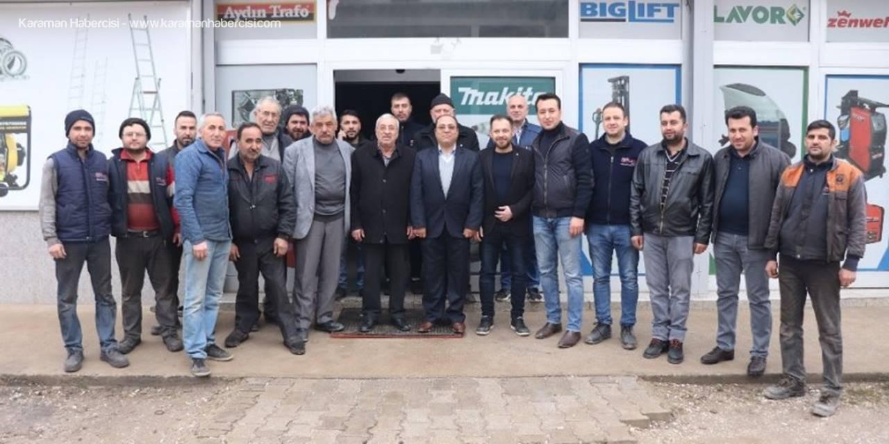 Karaman'da Sanayi Esnafı Ahilik Geleneğini Yaşatıyor
