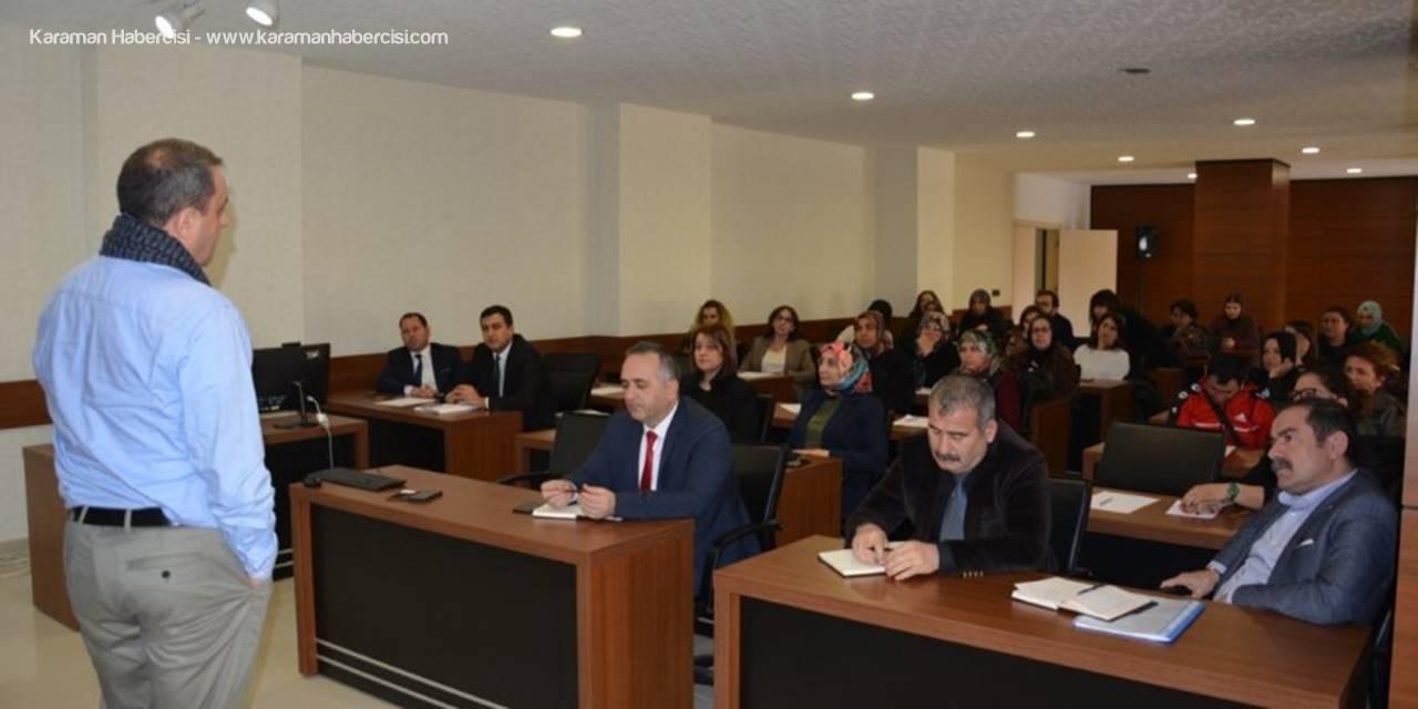Karaman'da Kooperatif Bilgilendirme Toplantısı