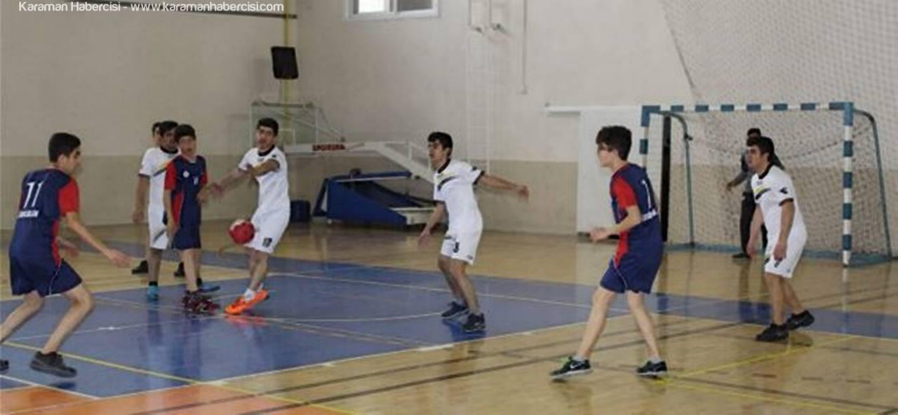 Karaman'da Hentbol Müsabakaları Sona Erdi