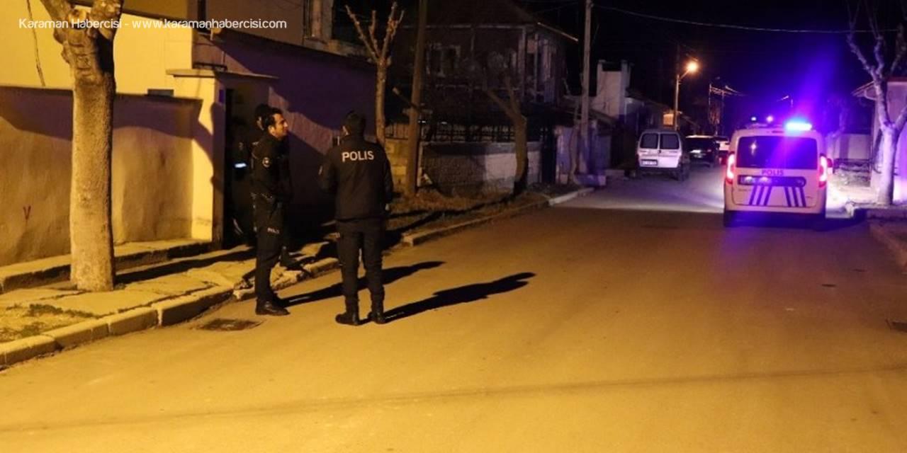 Karaman'da İki Arkadaş Arasında Bıçaklı Kavga: 1 Yaralı