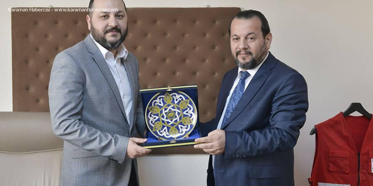 Rektör Akgül, Kızılay'ı Ziyaret Etti