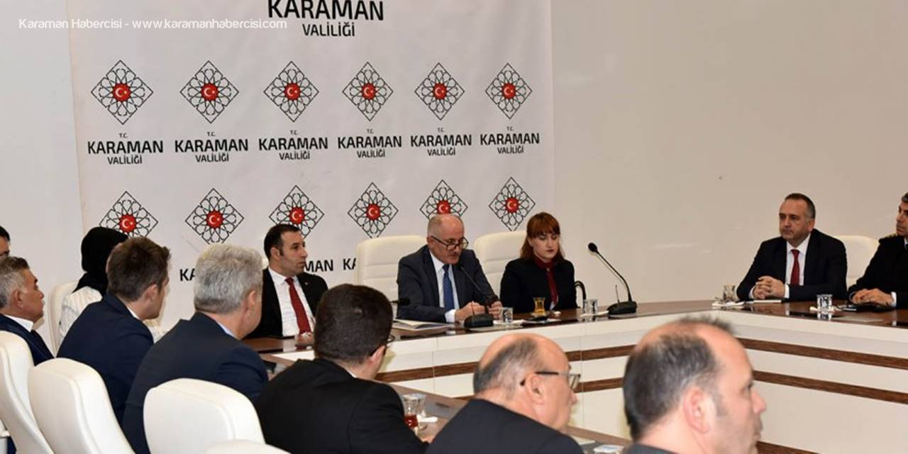 Kadına Yönelik Şiddet Konusunda Karaman'da Tedbirler Konuşuldu