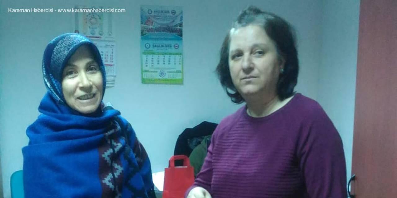 Saadet Partili Kadınlardan  Sağlık Çalışanlarına Ziyaret
