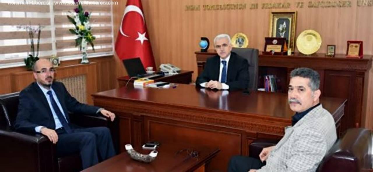 Karaman MHP İl Teşkilatı'ndan Kuntoğlu'na Ziyaret