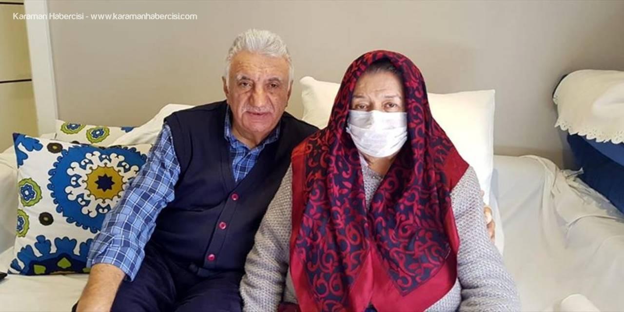 Antalya 50 Yıllık Eşlerin Böbrek Fedakarlığına Sahne Oldu