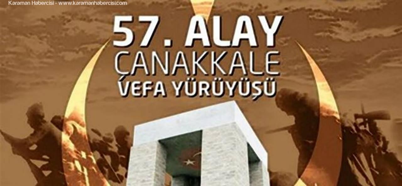 Karaman'da '57. Alaya Vefa Yürüyüşü' Düzenlenecek