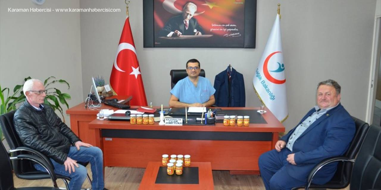 Karaman'da Sağlık Çalışanlarına Polen Desteği