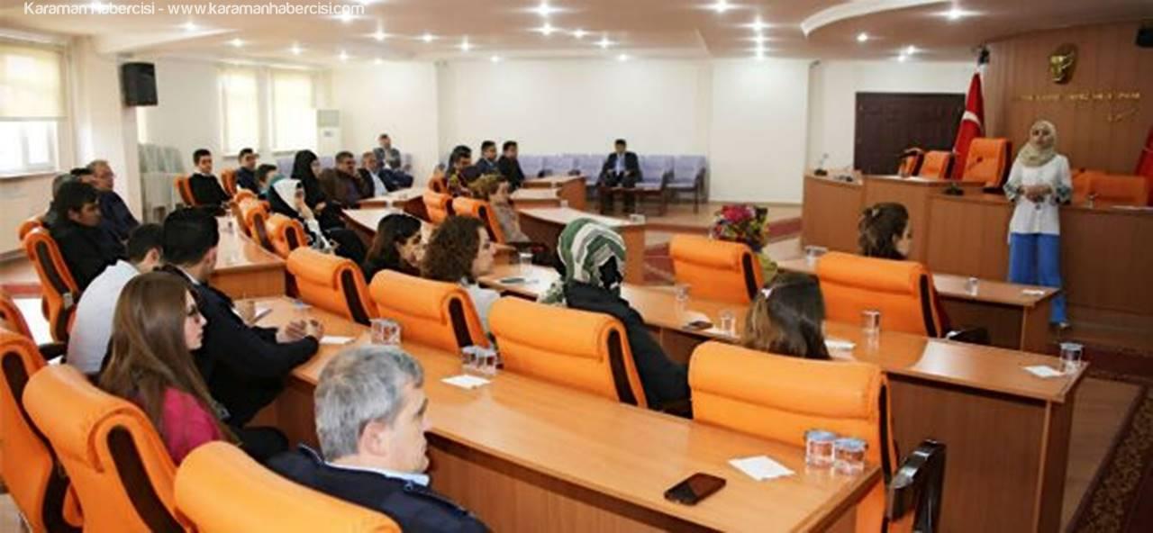 Karaman Belediye Personeline Eğitim Semineri Düzenlendi