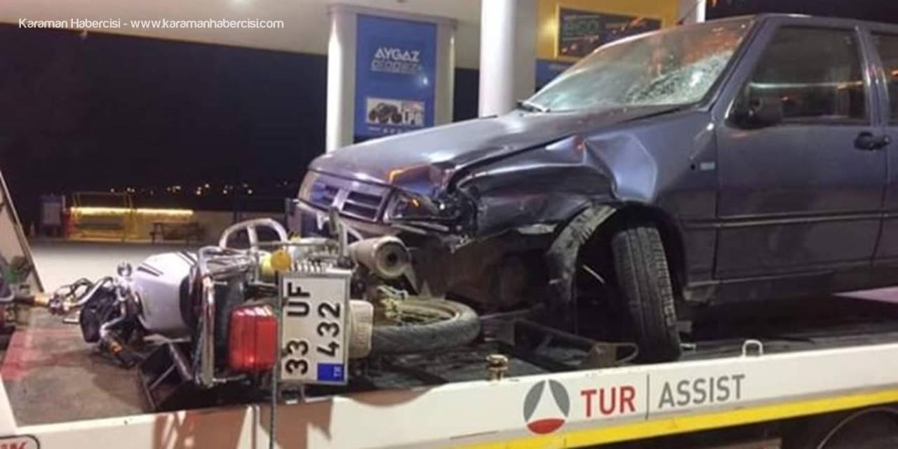 Mut'ta Trafik Kazası: 1 Ölü, 1 Yaralı