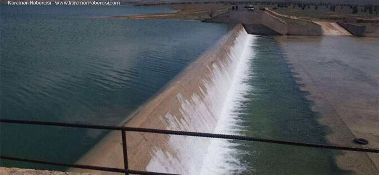 Ayrancı Barajı Doldu Taştı