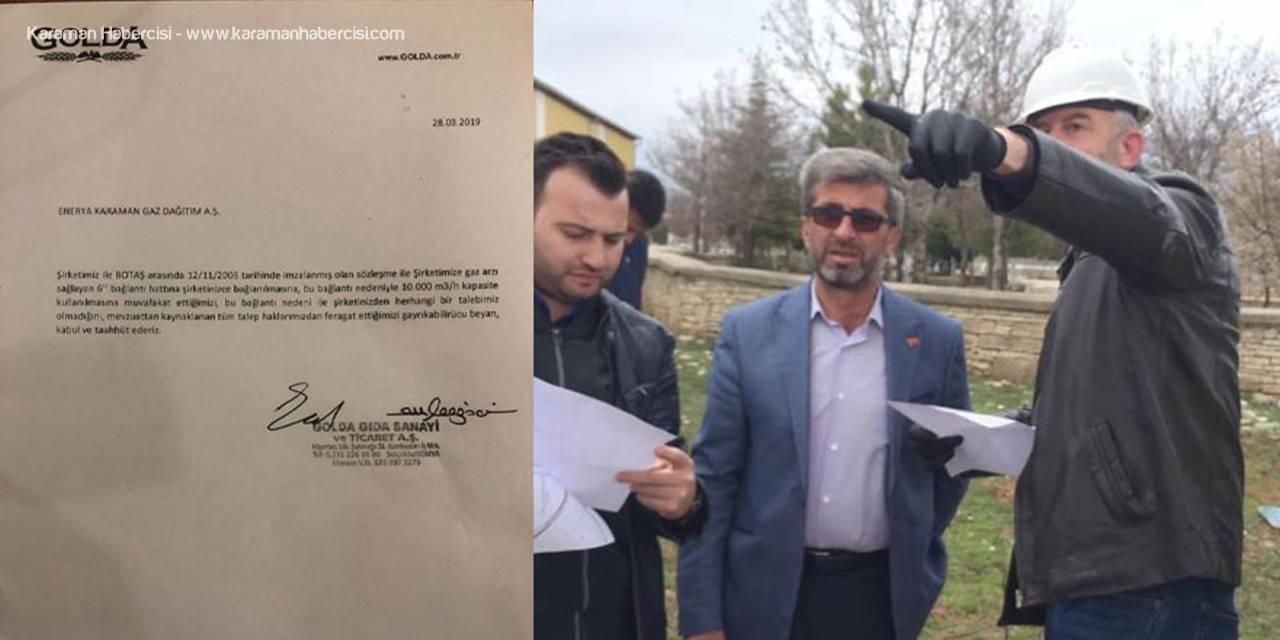 Karaman'ın Kazımkarabekir İlçesi Doğalgaza Kavuşuyor