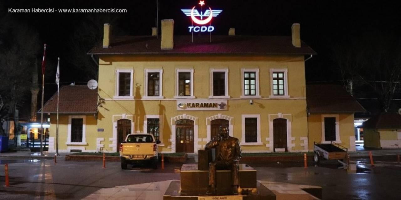 Karaman'da Ulaşım Hatlarında Korona Virüs Sessizliği