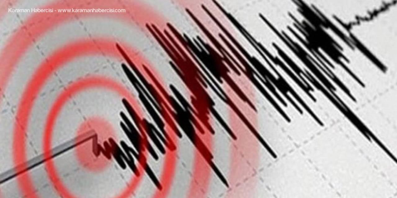 Antalya Açıklarındaki Deprem Karaman'da da Hissedildi