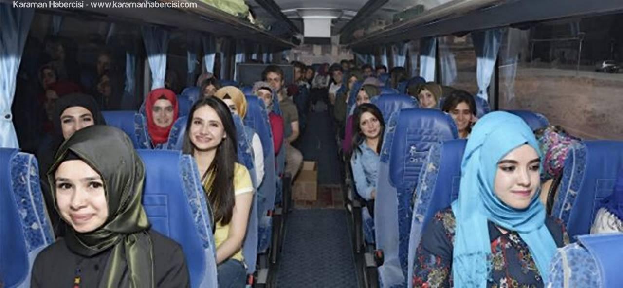 KMÜ Öğrencileri Çanakkale Gezisi İçin Yola Çıktı