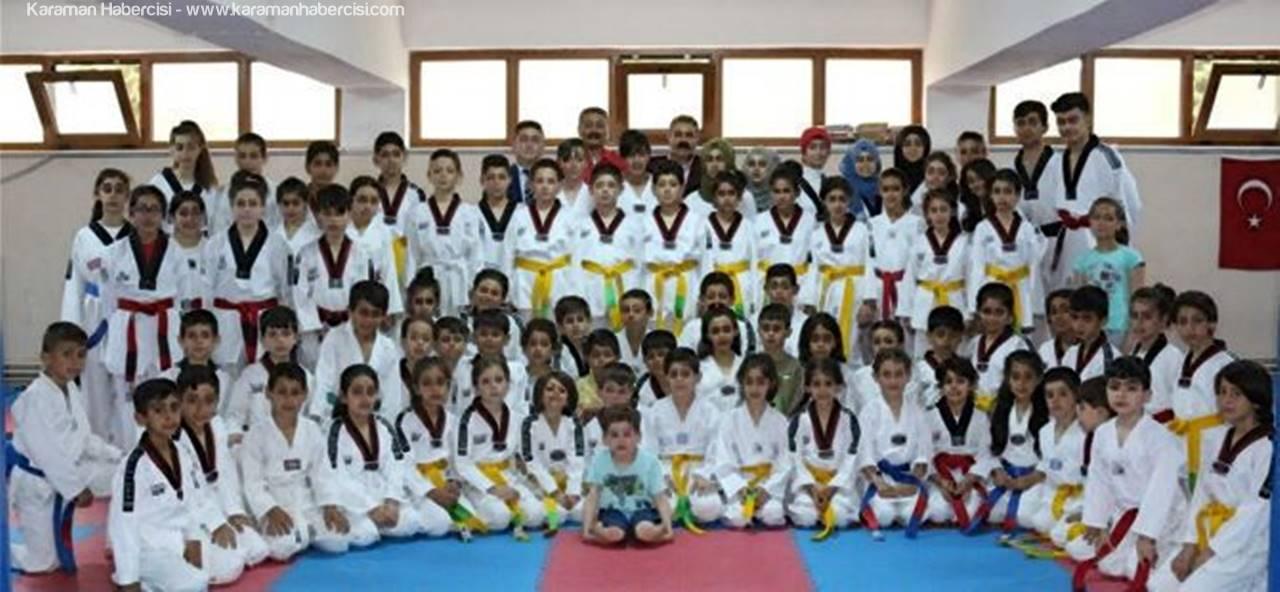 Karaman'da Geleceğin Tekvando Şampiyonları Yetişiyor