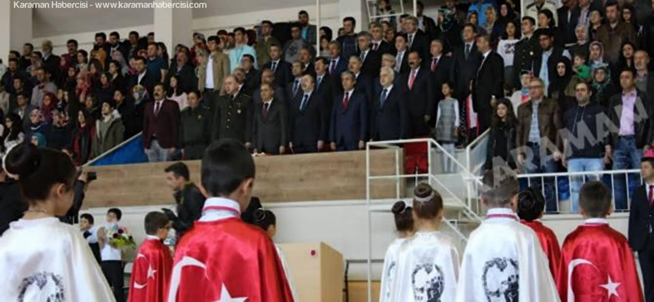 Karaman'da 23 Nisan Kutlamaları