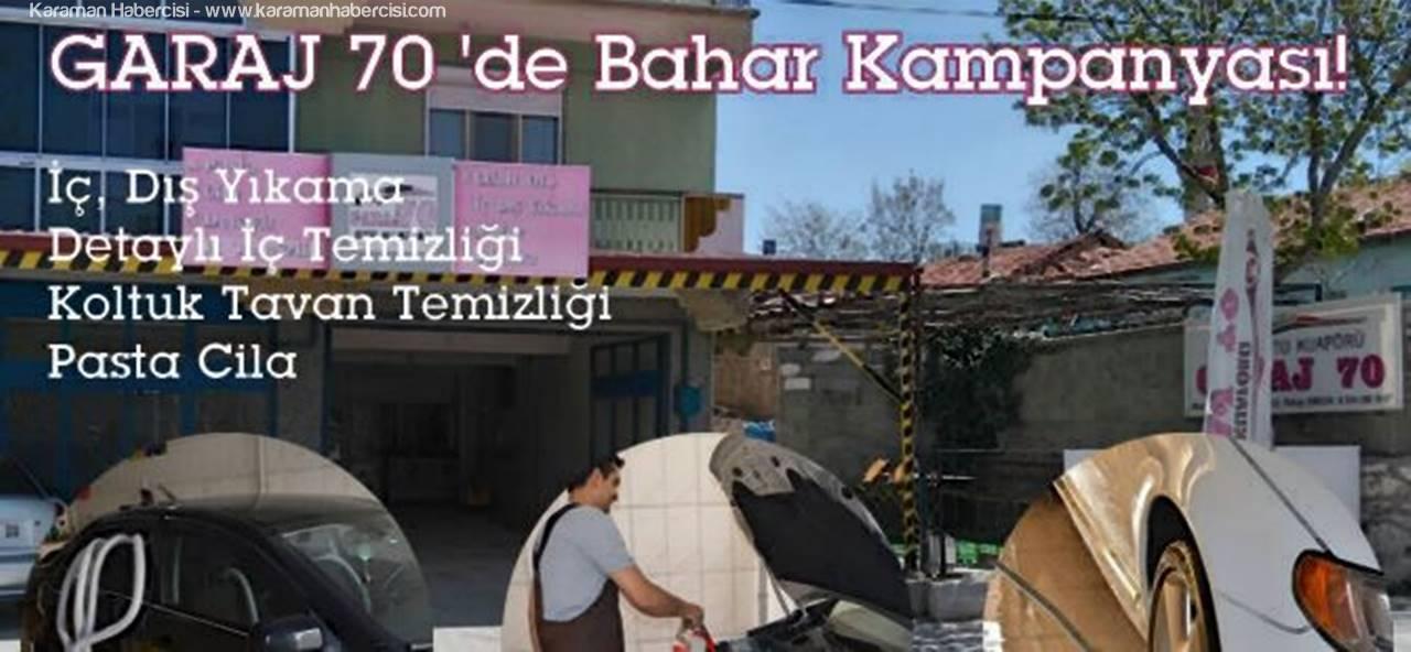Karaman'da Oto Yıkamanın Adresi Garaj 70