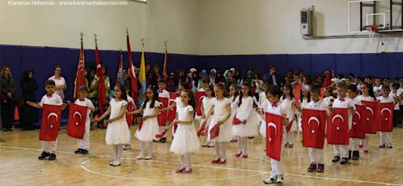 Başyayla'da 23 Nisan Ulusal Egemenlik ve Çocuk Bayramı Kutlandı