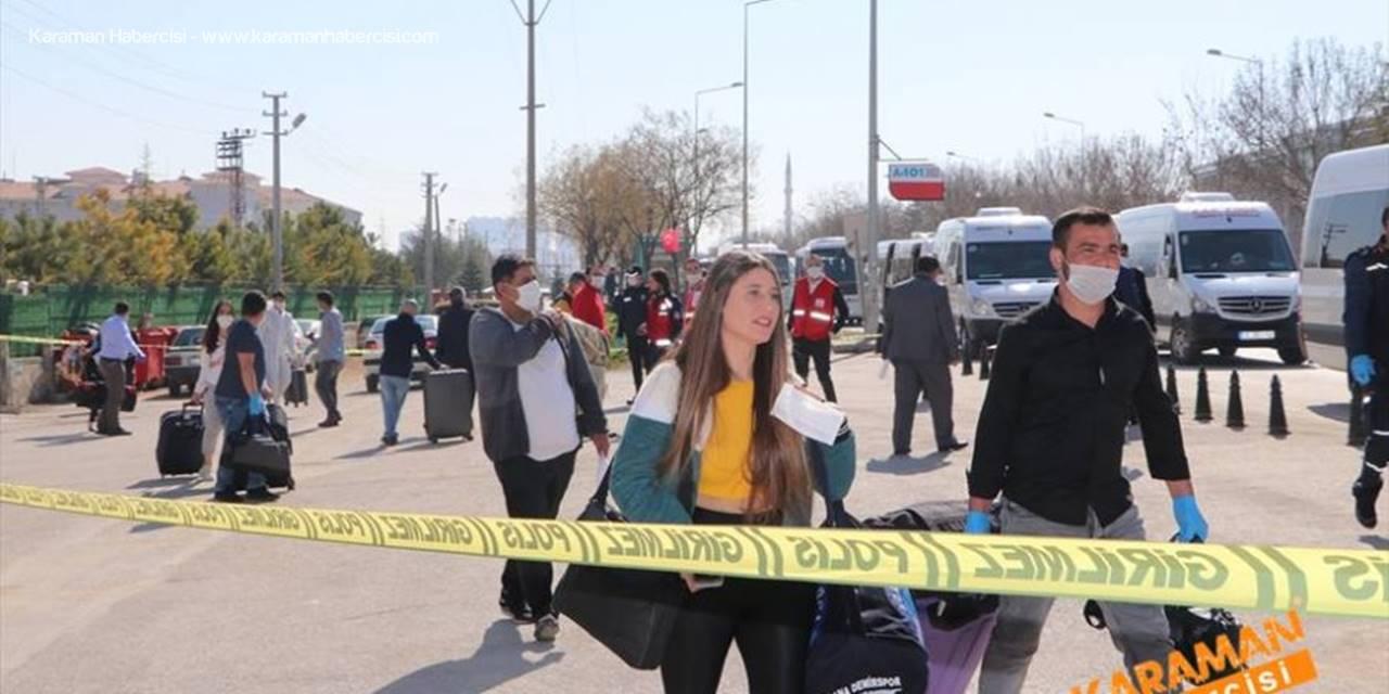 Karaman'da Karantina Misafirlikleri Sona Erdi