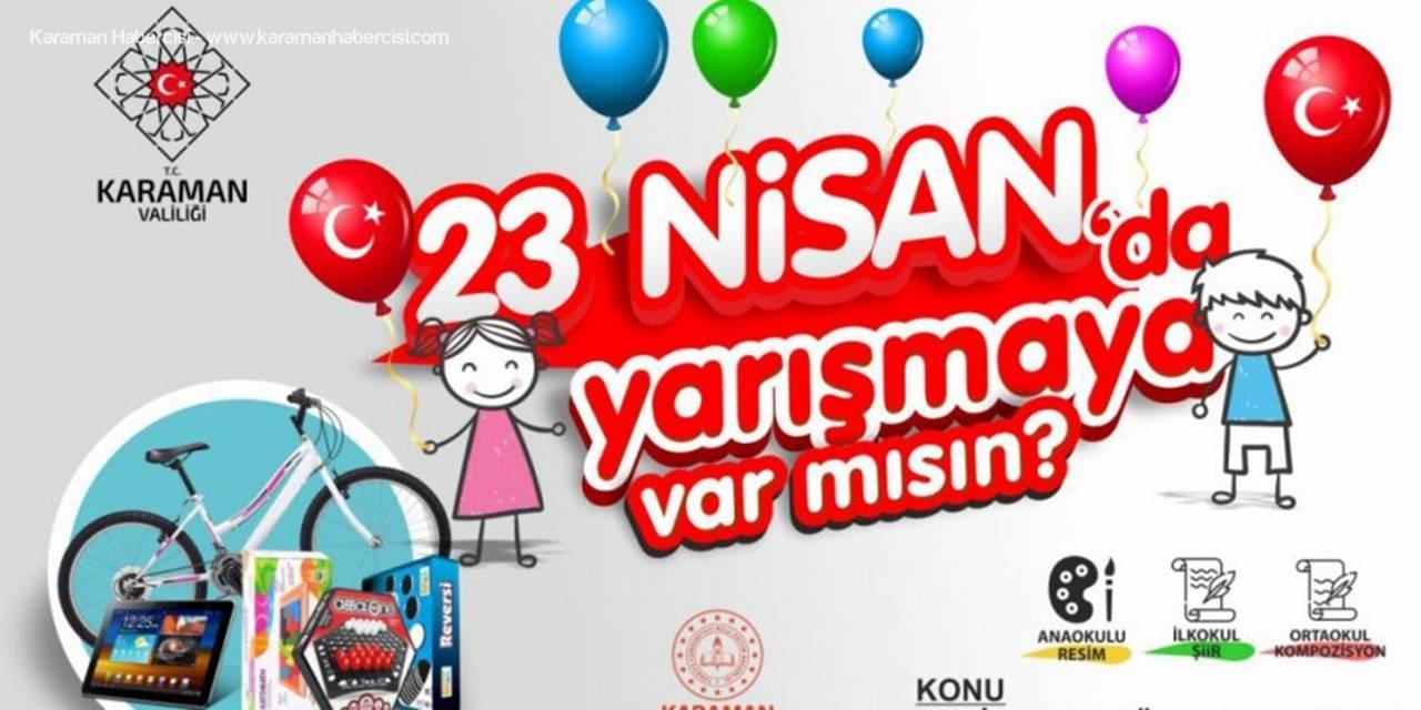 Karaman'da Çocuklar 23 Nisan'ı Anlatmak İçin Yarışacak
