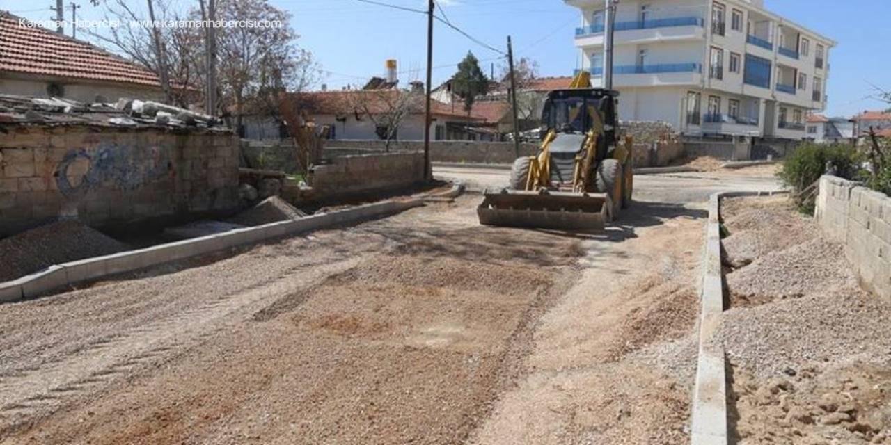 Karaman'da Yol ve Çevre Düzenlemesi Çalışmaları