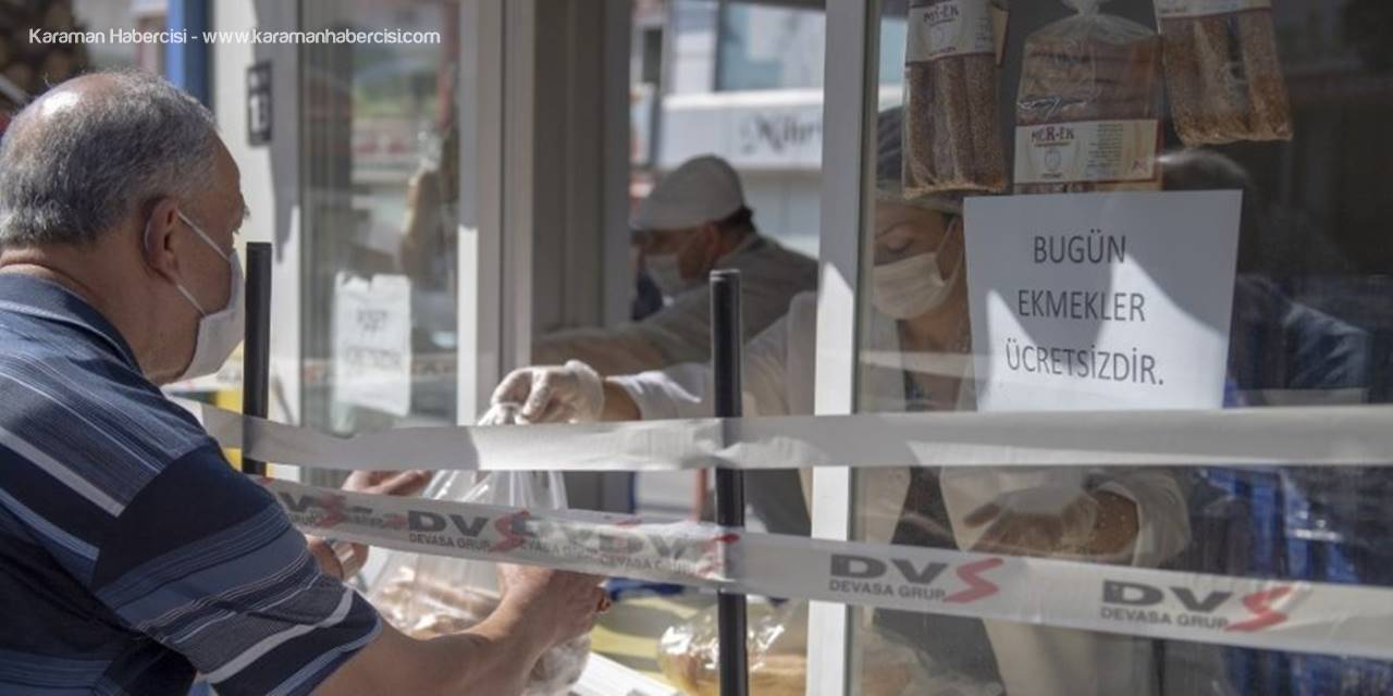 Gizli Hayırsever Parasını Ödedi, 5 Bin Ekmek Vatandaşa Bedava Dağıtıldı