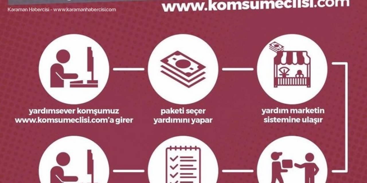 Muratpaşa'da 'Komşu Dayanışma Sistemi' Başladı