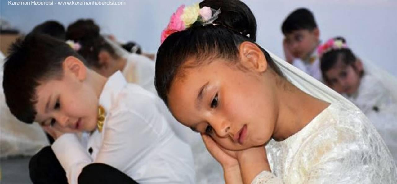 Karaman'da Minikler Peygamber Sevgilerini Anlattı