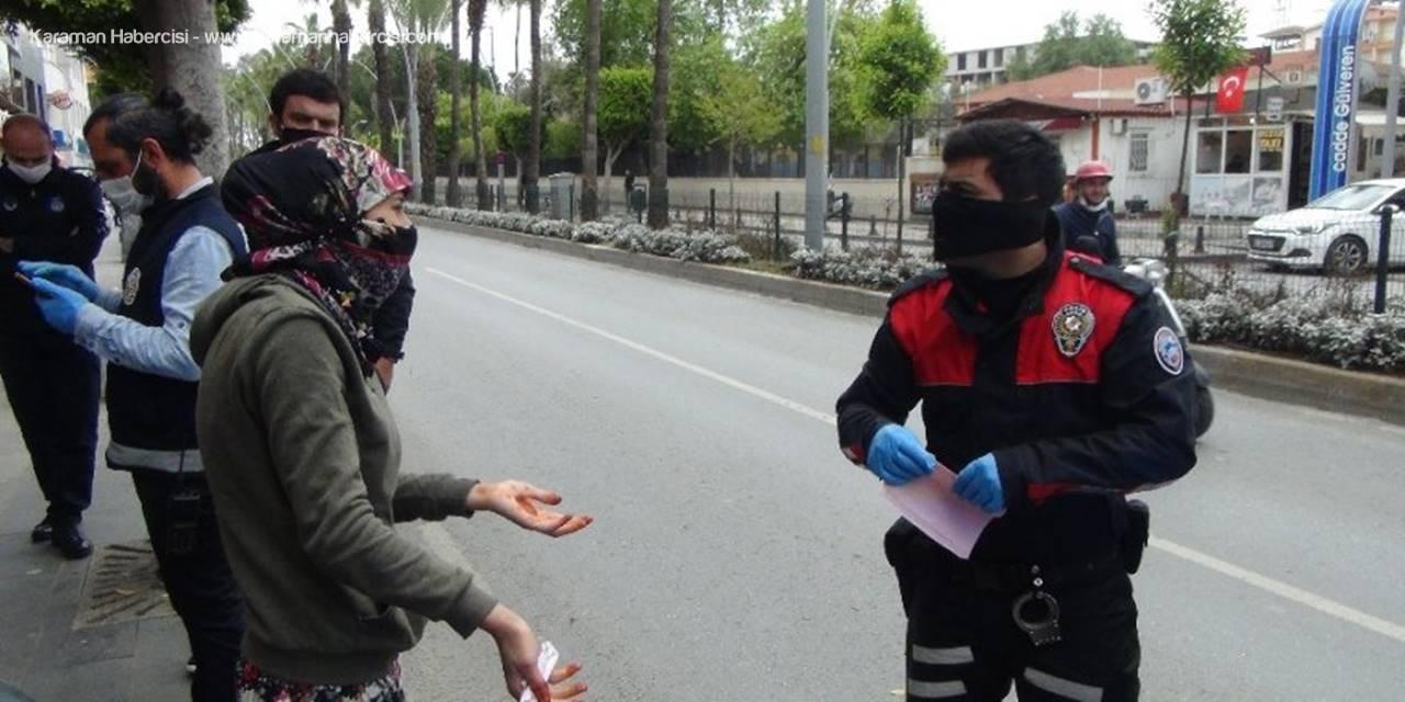 Antalya'da Dilenci Kadın Cezaya Karşı Kazancına Güveniyor