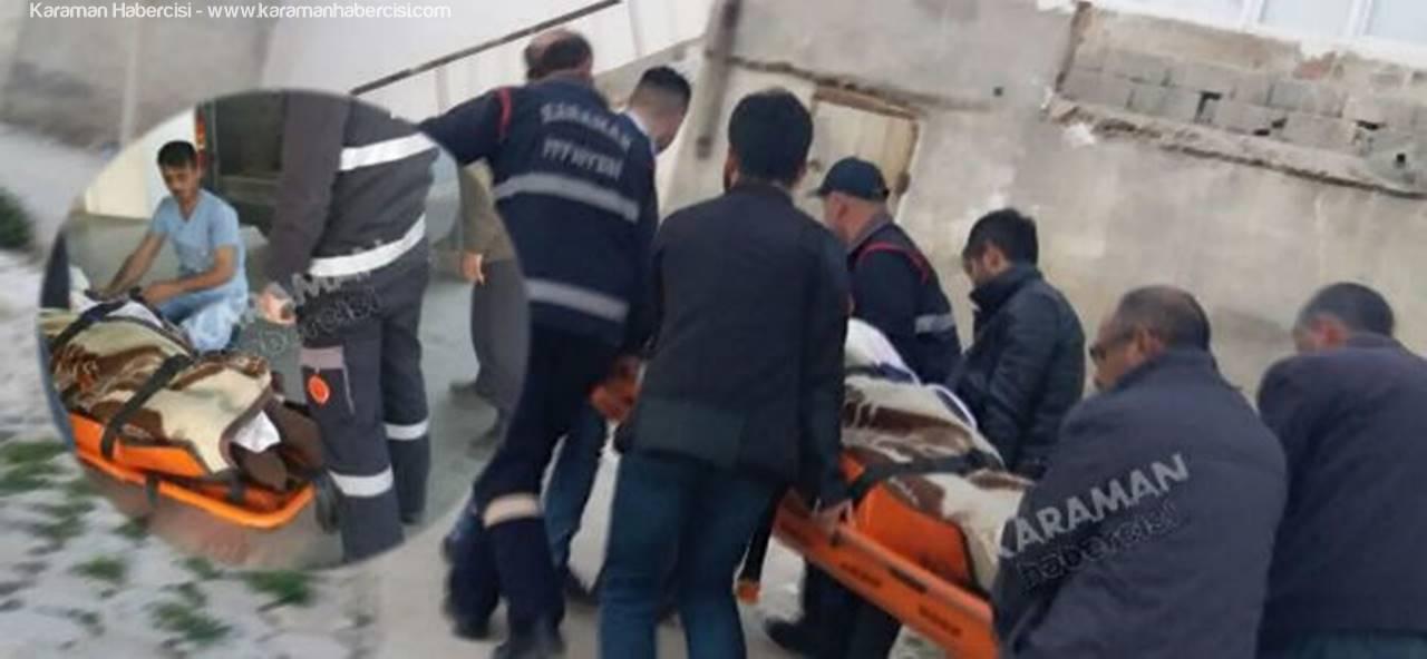 Karaman'da Kilolu Hasta Taşıma Rezaleti