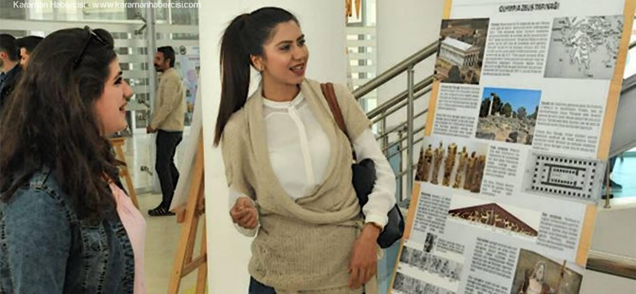 KMÜ, Arkeoloji Bölümü Öğrencilerinden Poster Sergisi