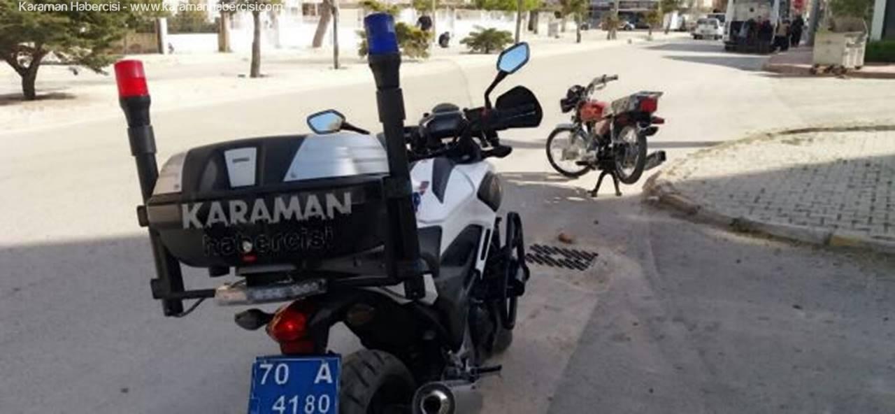 Karaman Emniyetinden Motosiklet Mesaisi