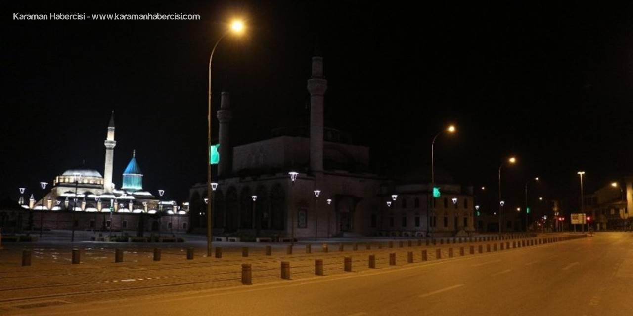 Konya'da Önce Hareketilik Sonra Sessizlik Hakim Oldu