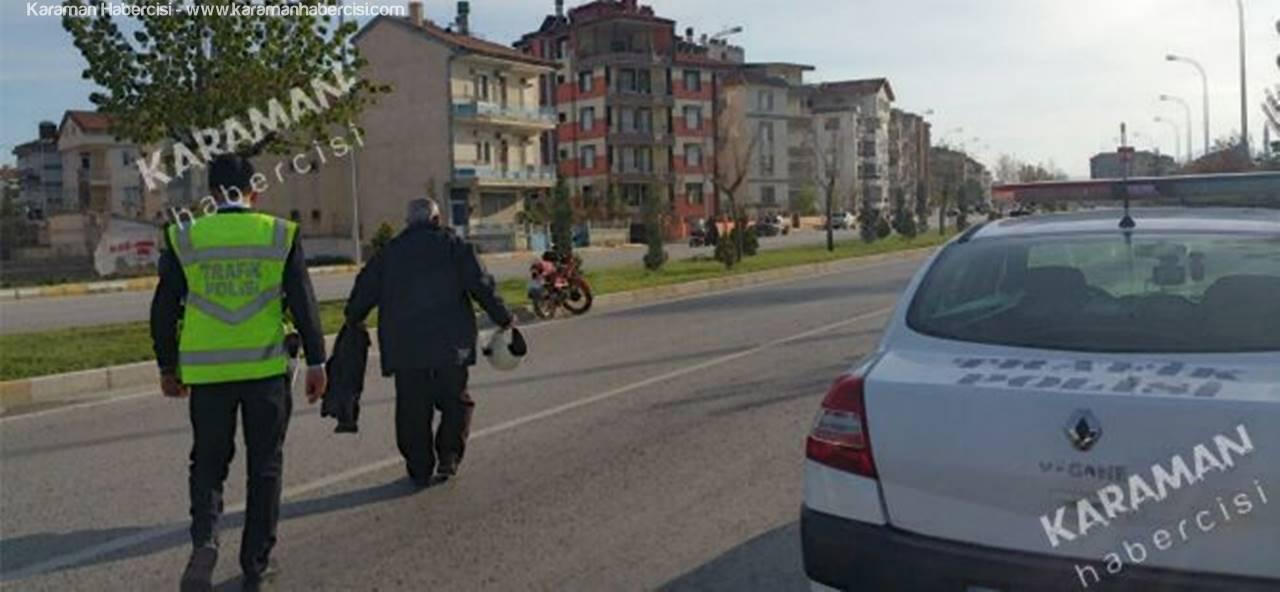Motosikletle Seyahat Canından Ediyordu