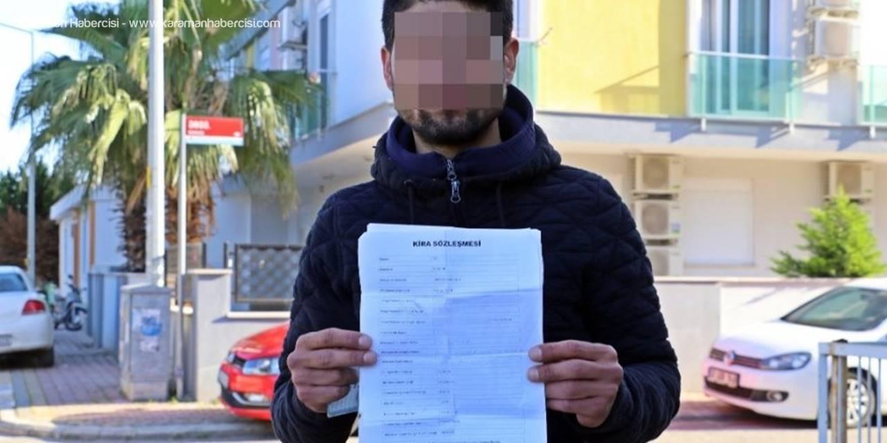 Antalya'da Kirasını Ödeyemeyen Genç Sokakta Kaldı