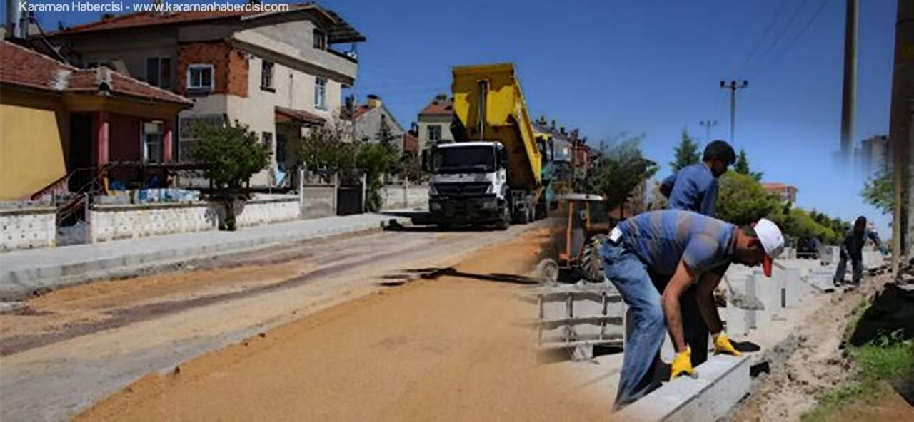 Osmangazi Mahallesi'nde Çalışmalar Devam Ediyor