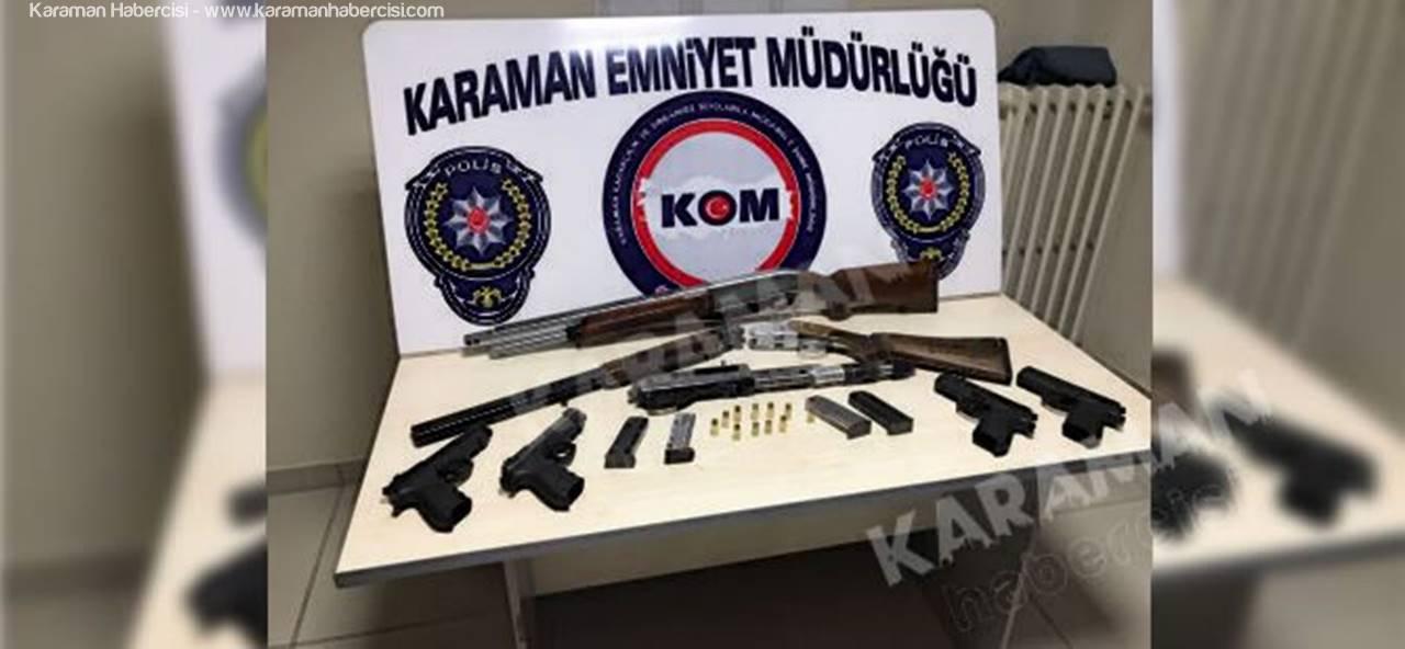 Karaman'da KOM Ekiplerinden Bir Operasyon Daha