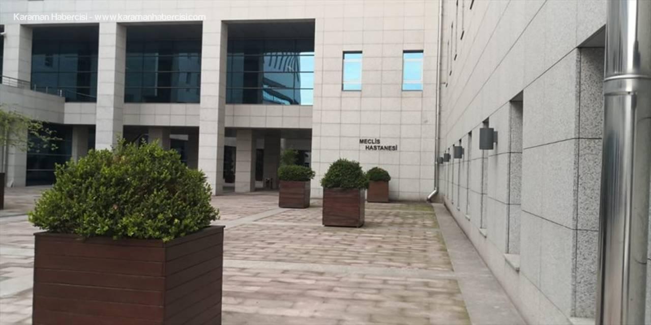 """Eskişehir'de Üretilen Yerli """"Steril Triyaj Kabini"""" Meclis Hastanesine Hediye Edildi"""